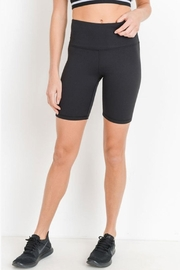 Mono B Black Biker Shorts - Product Mini Image