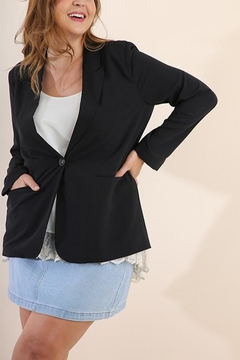 Umgee USA Black Blazer - Product List Image