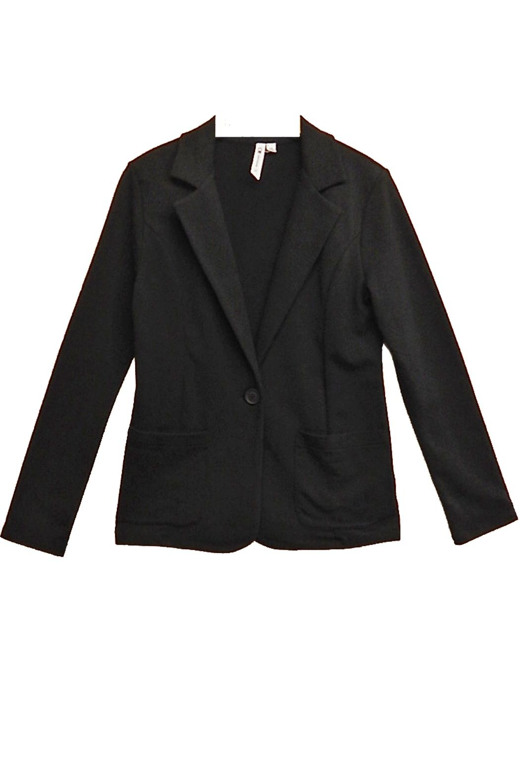 Cable & Gauge Black Blazer - Main Image