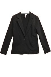 Cable & Gauge Black Blazer - Front cropped