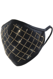 Giftcraft Inc.  Black Bling Adult Face Mask - Product Mini Image