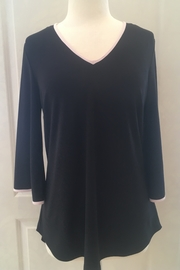 Frank Lyman Black blouse tunic - Product Mini Image
