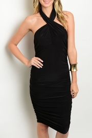Shop The Trends  Black Bodycon Dress - Product Mini Image