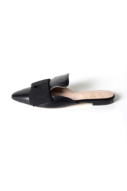 993 Black-Bow Slide Mule - Product Mini Image