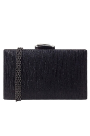 Wild Lilies Jewelry  Black Box Clutch - Front cropped