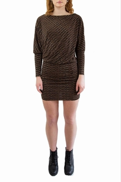 Veronica M Black & Brown Dress - Product List Image