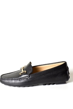 Pascucci Black Buckle Loafer - Product List Image