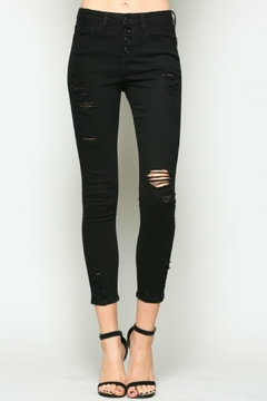 Vervet Black Button-Fly Denim - Product List Image
