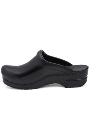 Dansko Black Cabrio Clog - Front full body
