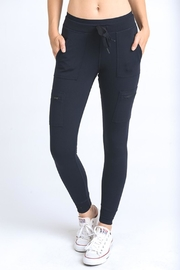 Mono B Black Capri Leggings - Product Mini Image