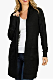 Hayden Black Cardigan - Product Mini Image