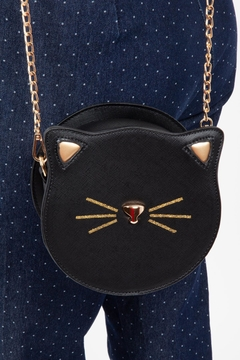 Voodoo Vixen Black Cat Crossbody-Bag - Alternate List Image