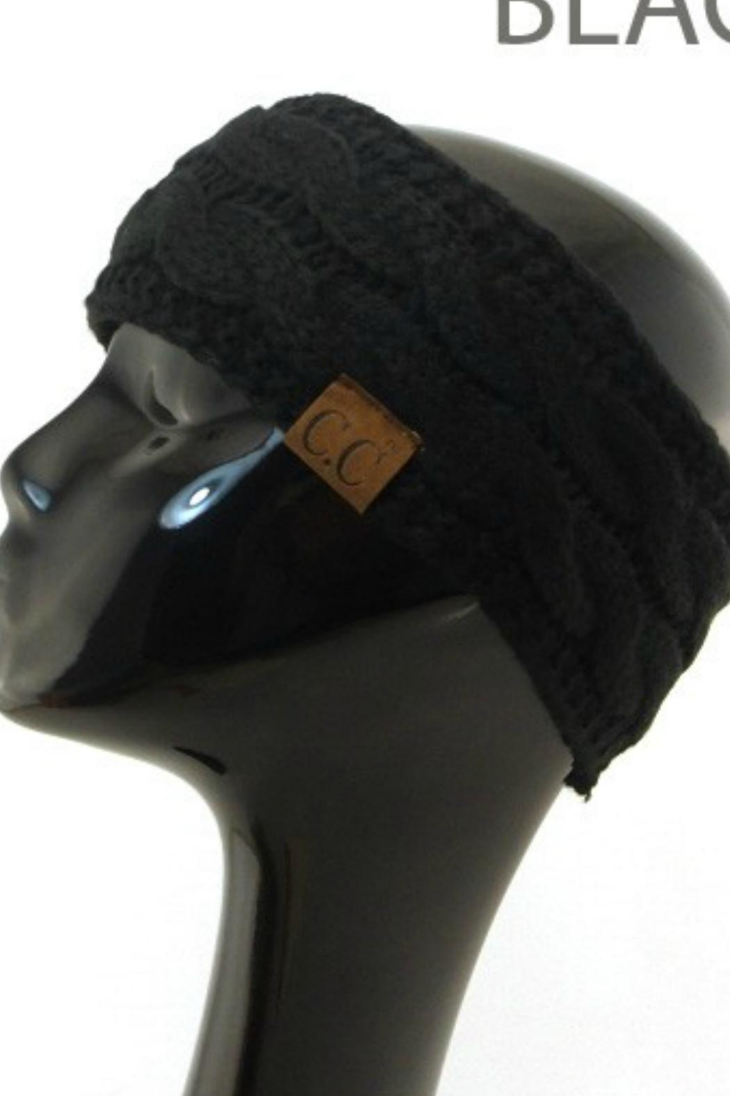 586250e755a CC Beanie Black Cc Headwrap from California by Apricot Lane - Folsom ...