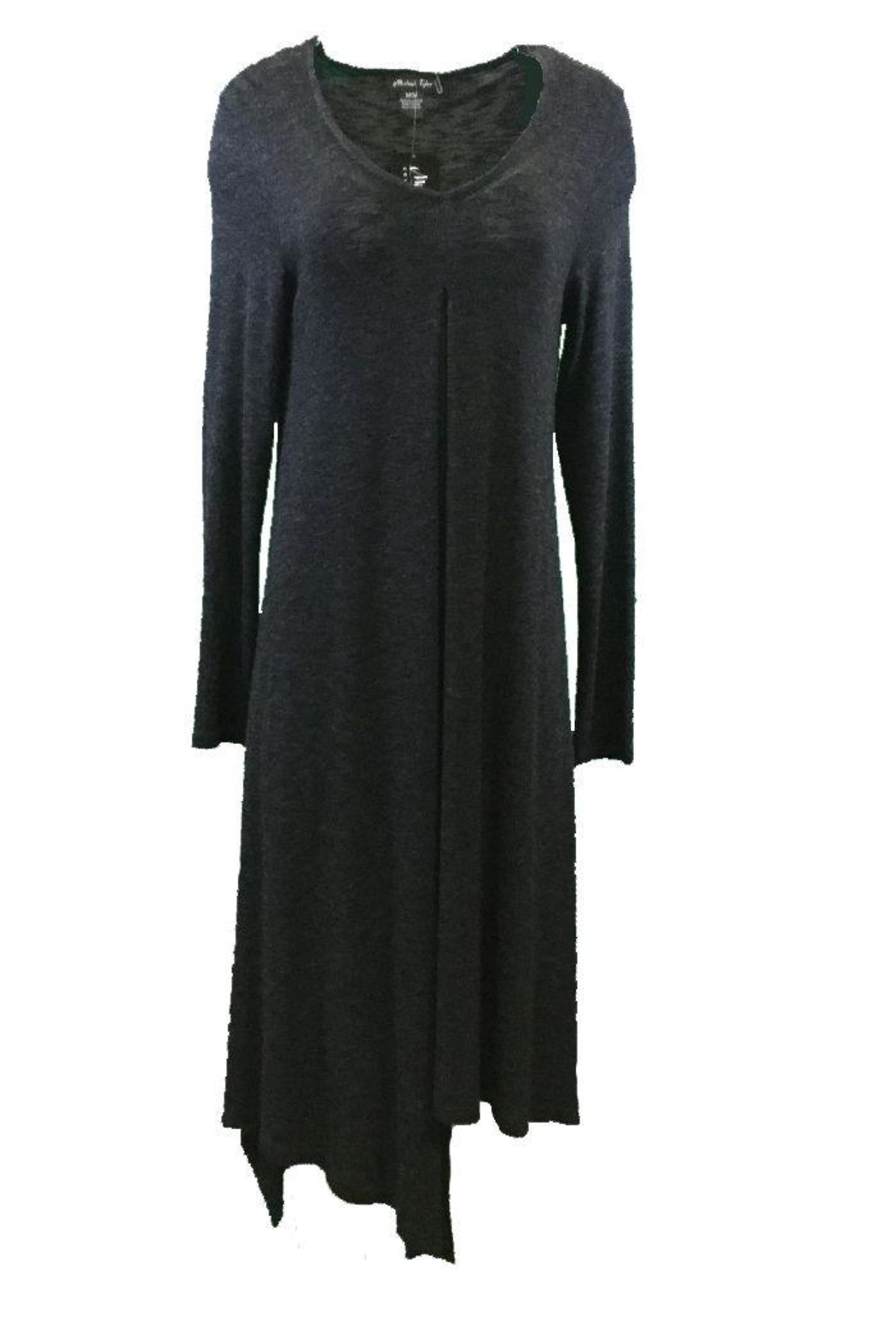 Michael Tyler Collections Black Charcoal Dress - Main Image