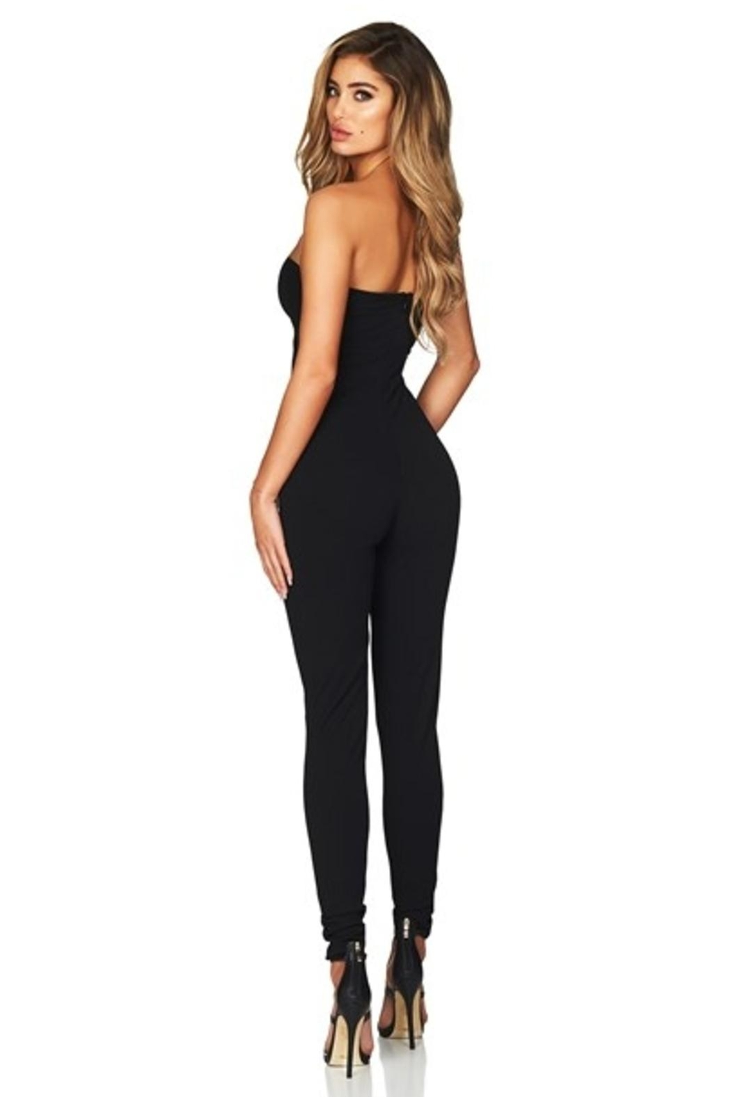 Nookie Black Charm Jumpsuit - Side Cropped Image