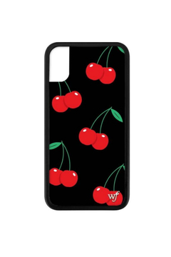 Wildflower Cases Black Cherry iPhone X Case - Product List Image