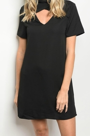 LoveRiche Black Choker Dress - Product Mini Image