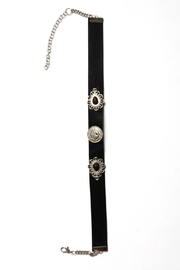 Wild Lilies Jewelry  Black Choker Necklace - Side cropped