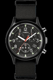 timex Black Chrono Watch - Product Mini Image