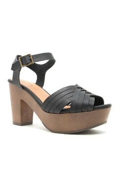 Shoptiques Product: Black Chunky Heel