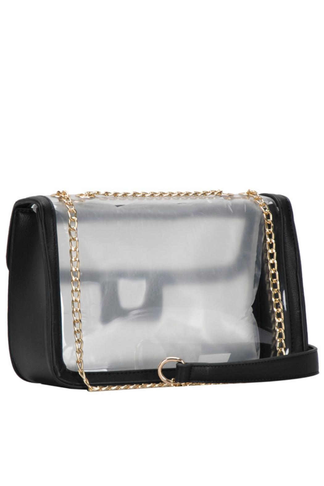 MMS Trading Black Clear Purse - Side Cropped Image