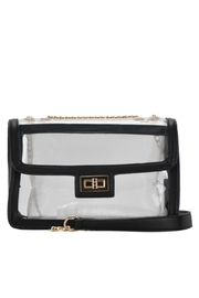 MMS Trading Black Clear Purse - Front cropped