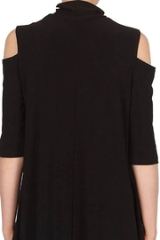 Joseph Ribkoff  black cold shoulder tunic - Product Mini Image