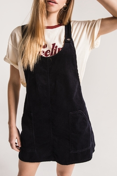 Others Follow  Black Corduroy Overall Dress - Product List Image