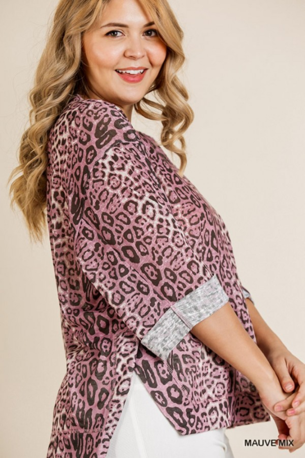 Umgee Plus Must Have Tunic - Side Cropped Image