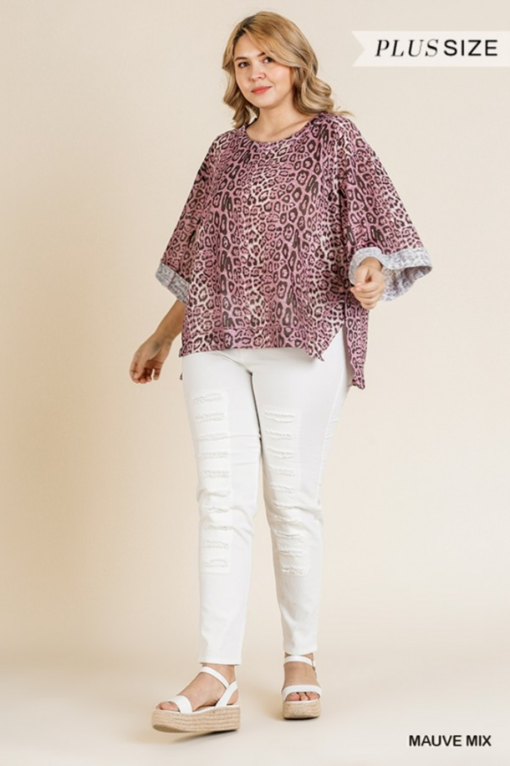 Umgee Plus Must Have Tunic - Front Full Image