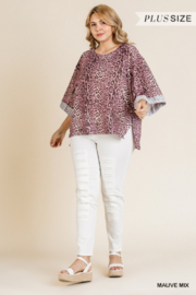 Umgee Plus Must Have Tunic - Front full body