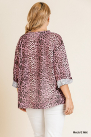 Umgee Plus Must Have Tunic - Back cropped