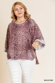 Umgee Plus Must Have Tunic - Front cropped