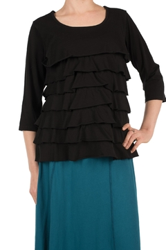 Shoptiques Product: Black Cotton Top