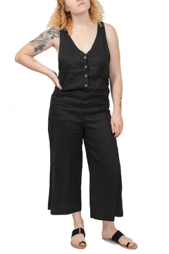 Rhythm  Black Cover-Up Jumpsuit - Product List Image