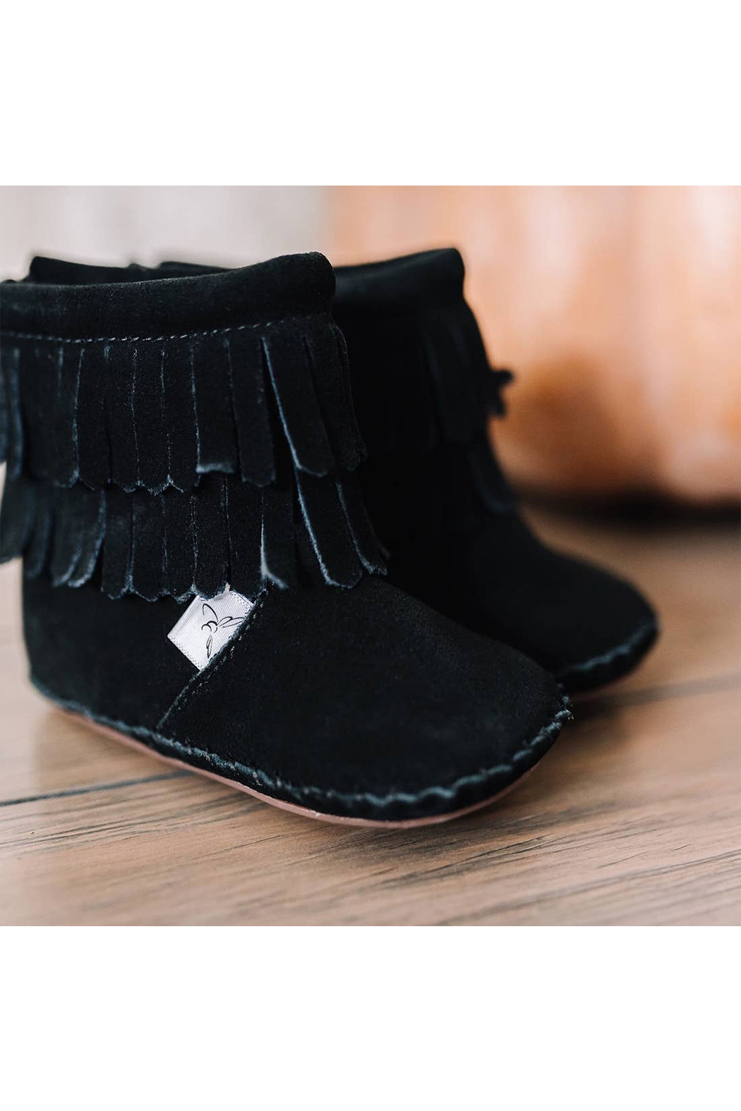 Little Love Bug Company Black Cozy Boot - Side Cropped Image