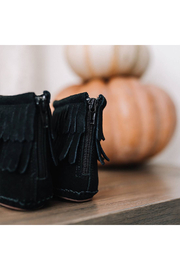 Little Love Bug Company Black Cozy Boot - Back cropped