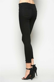 Vervet Black Crop Denim - Side cropped