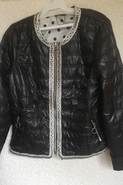 Renuar Black crop jacket - Product Mini Image