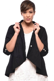 Tulip Black Crop Jacket - Product Mini Image