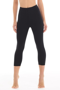 Commando Black Cropped Legging - Product List Image