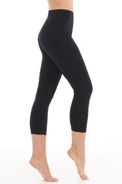 Commando Black Cropped Legging - Alternate List Image