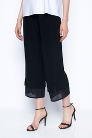 Picadilly Black Cropped Pant - Product Mini Image