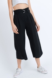 Love Tree Black Cropped Pants - Product Mini Image