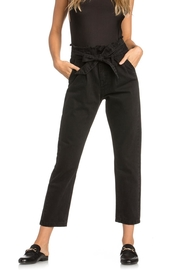 Dance & Marvel Black Cropped Pants - Product Mini Image