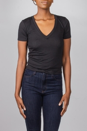 Tresics Black Cropped Tee - Product Mini Image