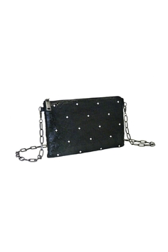 Whiting and Davis Black Crystal Beltbag - Product List Image