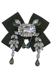 L'Imagine Black Crystal Brooch - Product Mini Image