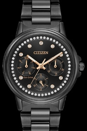 Citizen Watches Black Crystal Watch - Product Mini Image