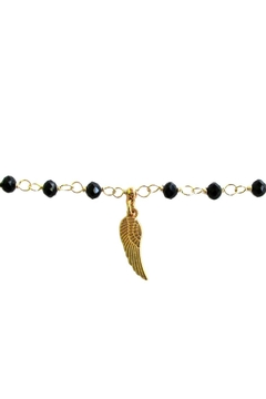 Malia Jewelry Black-Crystals Wing Bracelet - Alternate List Image